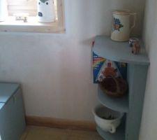 petit meuble maison pour accueillir le lave main