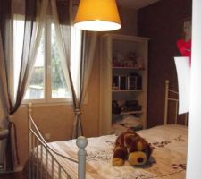 chambre de notre fille pratiquement terminee