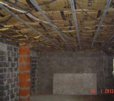 Isolation du plafond de l'étage