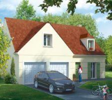 Idée d'ensemble de la maison (photo officielle Maisons Pierre)