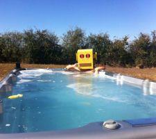 spa de nage 4m x2m une photo qui date de octobre desole de mettre en ligne si tard
