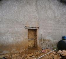 creation d une ouverture pour acceder a l ancienne grange