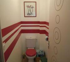 WC de l'étage : le cadre est posé !!!