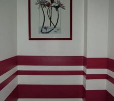 wc de l etage le cadre est pose