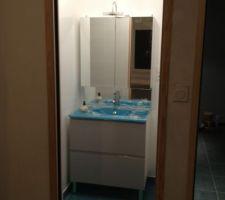 meuble de la salle d eau pose