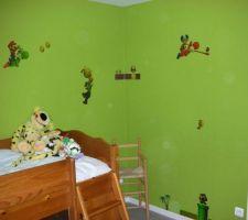 Déco Mario chambre de Noah