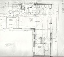 plan de la maison tenant compte des modifications faites par la suite