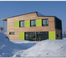 la calougeotte maison bioclimatique en klh