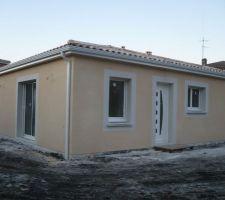 construction maison plein pied avec couleur villas pessac alouette