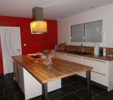 Notre cuisine finie, on est très contents du résultat!!!