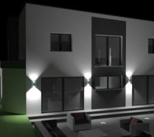 simulations emplacements luminaires