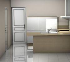 Projet cuisine petite armoire