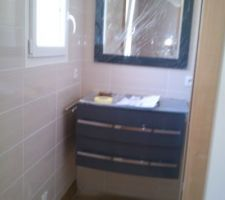 Meuble de notre salle d'eau