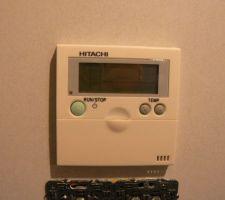 Le thermostat du salon