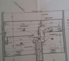 Modification chambre 2 à l'étage