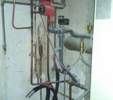 Remise en état des circuits de chauffage... Test de la chaudière à venir la semaine prochaine