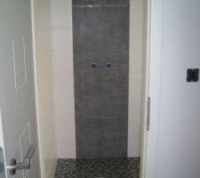 Vue sur douche