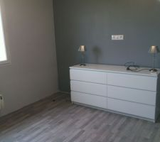 notre chambre commode malm ikea peinture dulux valentine long island pastel et moyen