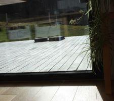 Continuité intérieur/terrasse