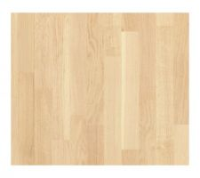 Parquet chêne contrecollé 3 frises Vernis blanchi 2.5 mm d'épaisseur Déco