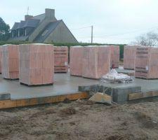 briques et mortiers joints minces