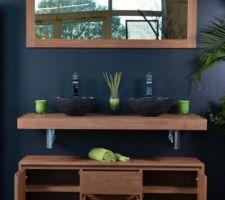 meuble de salle de bain