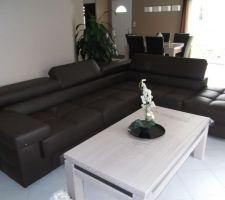 Notre New canapé!