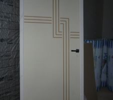 peinture portes intrieures maison. abatie lyon rfection rnovation ... - Comment Peindre Une Porte Avec Des Rainures