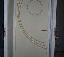 ma maison contemporaine, marne - Comment Peindre Une Porte Avec Des Rainures
