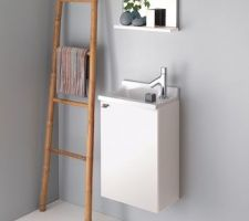 modele du lave main choisi chez sanijura pour le wc 2 mais il sera noir laque et la vasque blanche