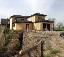 une idee un croquis un projet une maison