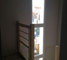 Escalier pour l'étage