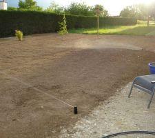 premier essai de l irrigation