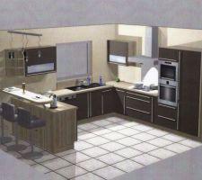 Image de la future cuisine