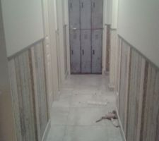 Habillage du couloir