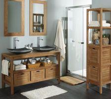 Notre meuble-vasque pour la salle d'eau parentale