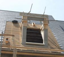 nouveaux linteaux en place