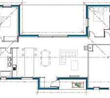 Plan maison au 8 Juin