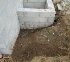 emplacement cuve 1m3 pour arroser le jardin et les toilettes