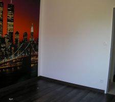 15 juin : papier peint chambre ado