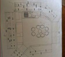 plan de cuisine actuelle
