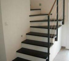 voici le rendu que j aimerais avoir avec notre escalier