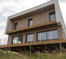 maison passive a ossature en bois en lorraine