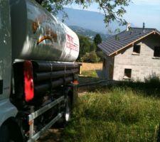Première Livraison de granules (3,3 tonnes)