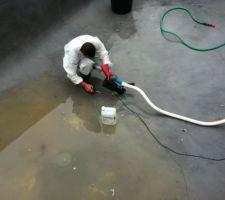 Photos et id es piscine b ton projet 79 photos - Nettoyage carrelage acide chlorhydrique ...