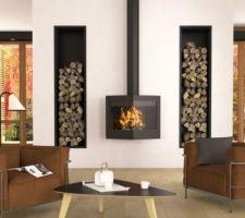 Choix de la future cheminée