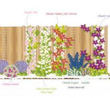 idees d amenagement pour la separation entre le jardin et le potager