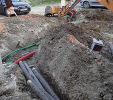 Drains, Gaz, EDF et évacuation des eaux de pluie et du reste