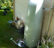 Je pense notre futur récupérateur d'eau