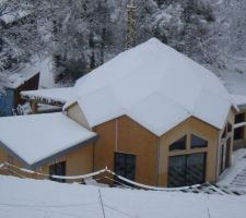 Sous 25 cm de neige